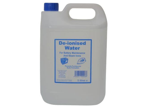 Homecare - De-ionised Water 5 Litres Engine Maintenance | Snape & Sons