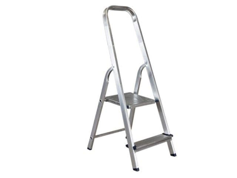 HomeValue - Aluminium Step Ladder 2 Step Step Ladders | Snape & Sons