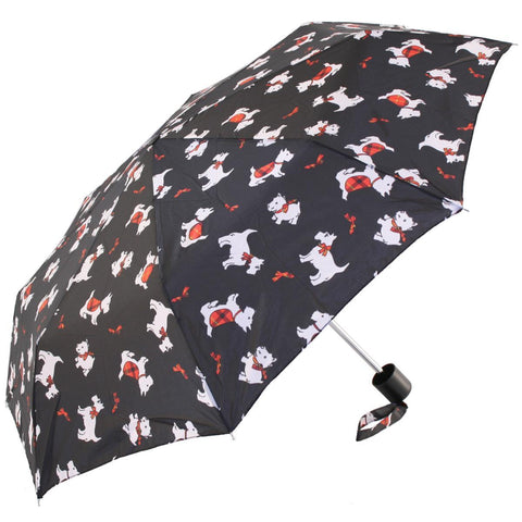 Incognito - Essential Patterned Compact Umbrellas Umbrellas | Snape & Sons