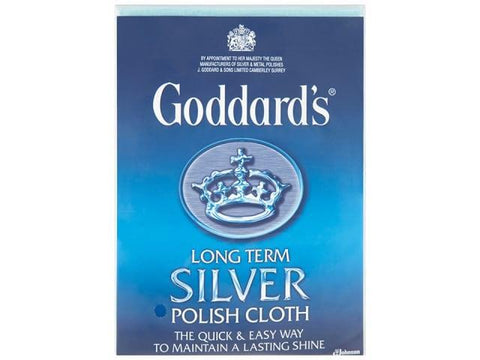 Johnson's - Long Term Silver Polishing Cloth Metal Polish | Snape & Sons