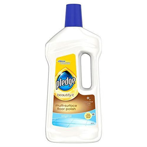 Johnson's - Pledge Klear Multi-surface Wax Floor Polish 750ml Floor Cleaner | Snape & Sons