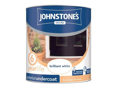 Johnstone's - Exterior Undercoat Dark Grey 2.5l Exterior Wood & Metal Paints | Snape & Sons