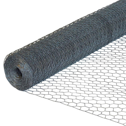 Kestrel - 25mm Galvanised Chicken Wire Netting 5m x 900mm Wire Mesh | Snape & Sons