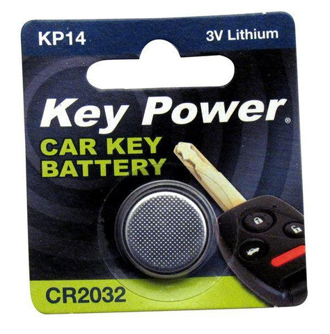 Key Power - CR2032 3V Lithium Button Cell Battery Button Cell Coin Batteries | Snape & Sons