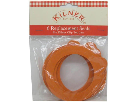 Kilner - Jar Seals Medium x6 Jam Making Accessories | Snape & Sons