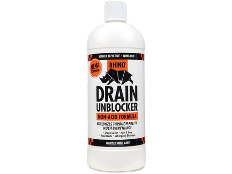 Kilrock - Rhino Kitchen & Drain Unblocker 1l Drain Unblockers | Snape & Sons