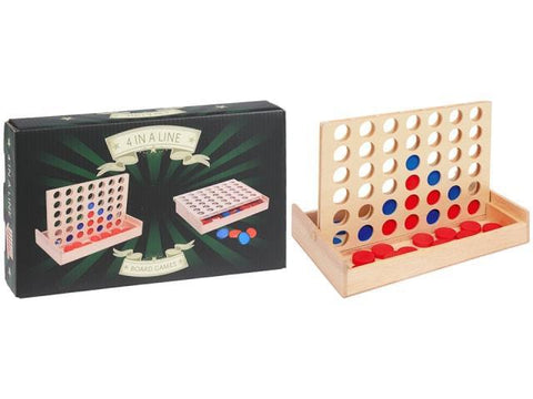 Koopman - Wooden 4-in-a-Row Toys & Games | Snape & Sons