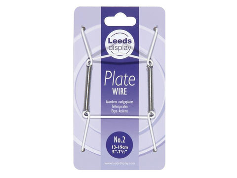 Leeds Display - Wire Plate Hanger No.2 Plate Hangers | Snape & Sons