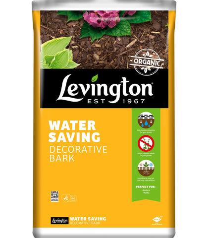 Levington - Decorative Water Saving Forest Bark 75L Garden Bark | Snape & Sons