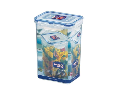Lock & Lock - Tall Food Store Rectangular 1.3L Food Containers | Snape & Sons