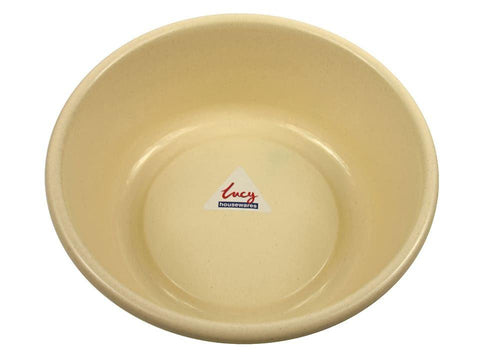 Lucy - Small Maize Round Bowl Washing Up Bowls | Snape & Sons