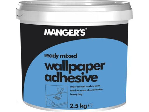 Mangers - Wallpaper Paste Tub Ready Mixed 2.5kg Wallpaper Paste | Snape & Sons