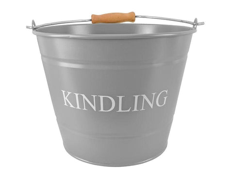 Manor - Kindling Bucket Small Charcoal Log Baskets | Snape & Sons