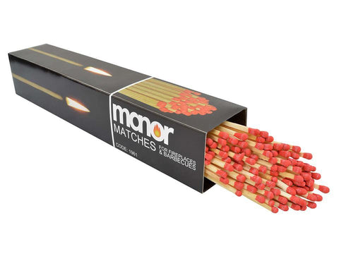 Manor - Seriously Long Matches x90 Approx Lighters & Matches | Snape & Sons