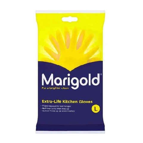 Marigold - Kitchen Gloves Large Rubber Gloves | Snape & Sons