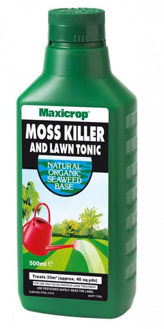 Maxicrop - Moss Killer & Lawn Tonic 500ml Lawn Treatment | Snape & Sons