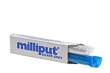 Milliput - Milliput Epoxy Putty Silver Grey Adhesive | Snape & Sons