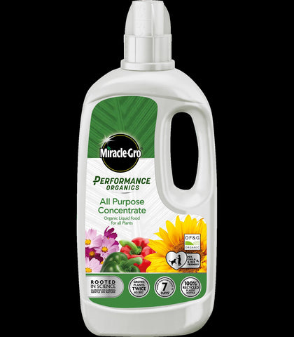 Miracle Gro - Organic Liquid Pour Plant Food 1L Liquid Plant Feeds | Snape & Sons