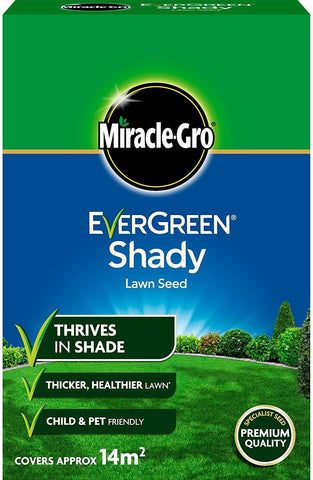 Miracle Gro - Shady Lawn Seed 420g Lawn Seed | Snape & Sons