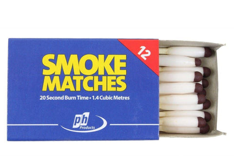 Monument - 20 Second Smoke Matches x12 Stove Accessories | Snape & Sons