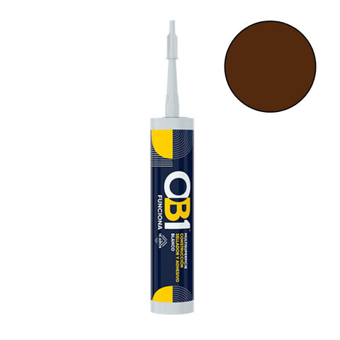OB1 - Brown Multi-Surface Construction Sealant & Adhesive 290ml Speciality Adhesives | Snape & Sons