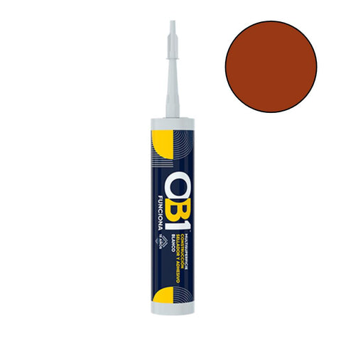 OB1 - Terracotta Multi-Surface Construction Sealant & Adhesive 290ml Speciality Adhesives | Snape & Sons