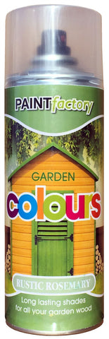Paint Factory - Garden Colours Rustic Rosemary 400ml Spray Paints | Snape & Sons
