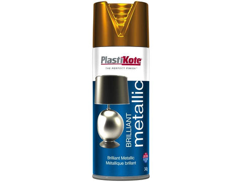 Plastikote - Brilliant Metallic Copper 400ml Spray Paints | Snape & Sons