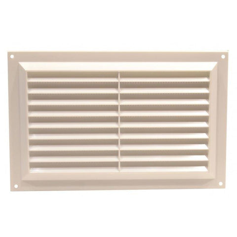 Plumb Best - Plastic Louvre Vent Medium Vents | Snape & Sons