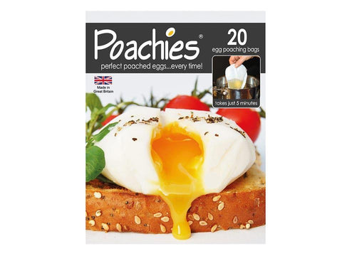 Poachies - Poachies Poaching Bags x 20 Egg Poachers | Snape & Sons
