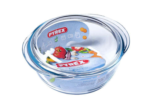 Pyrex - Essential Round Casserole 1.6L Casserole Dishes | Snape & Sons