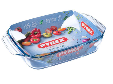 Pyrex - Irresistible Rectangular Roaster Medium Roasters | Snape & Sons