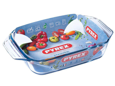 Pyrex - Irresistible Rectangular Roaster Small Roasters | Snape & Sons