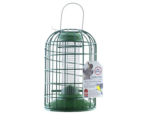 Red Barn - Heavy Duty Squirrel Guardian Peanut Feeder Peanut Feeders | Snape & Sons