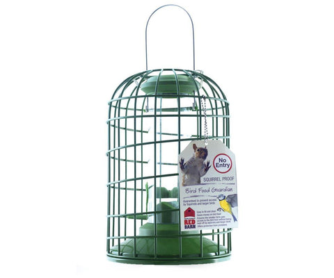 Red Barn - Heavy Duty Squirrel Guardian Seed Feeder Seed Feeders | Snape & Sons