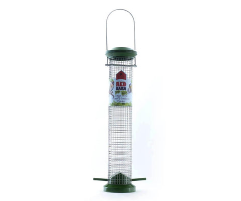 Red Barn - Large Metal Squirrel Resistant Peanut Feeder Peanut Feeders | Snape & Sons