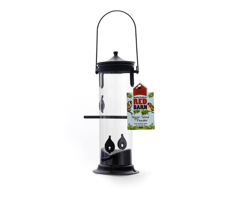 Red Barn - Niger Seed Feeder Seed Feeders | Snape & Sons