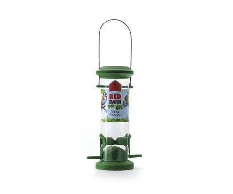 Red Barn - Seed Feeder Seed Feeders | Snape & Sons