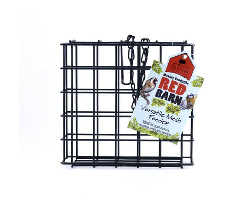 Red Barn - Versatile Mesh Cage Feeder Fat Ball Feeders | Snape & Sons