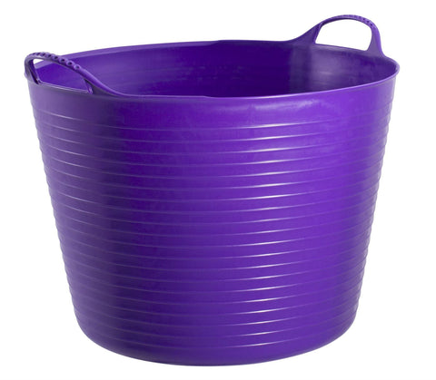 Red Gorilla - Gorilla Tub Purple 38L Trug Buckets | Snape & Sons