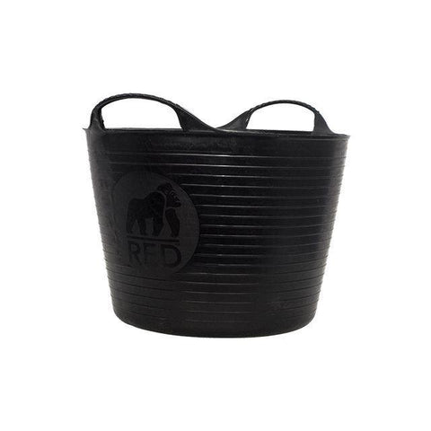 Red Gorilla - Recycled Gorilla Tub Black 14L Trug Buckets | Snape & Sons