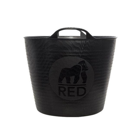 Red Gorilla - Recycled Gorilla Tub Black 26L Trug Buckets | Snape & Sons