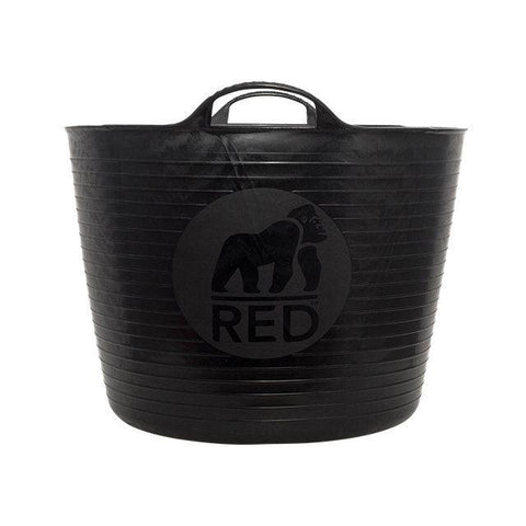 Red Gorilla - Recycled gorilla Tub Black 38L Trug Buckets | Snape & Sons