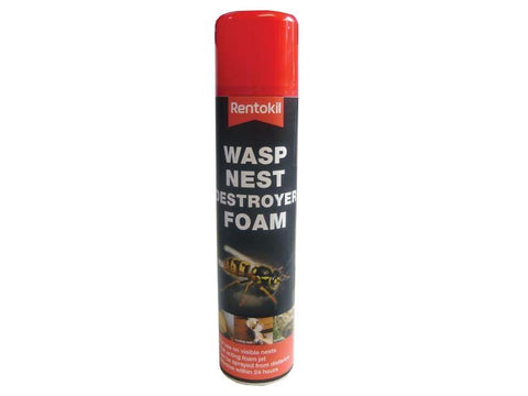 Rentokil - Wasp Nest Destroyer Foam 300ml Wasp Control | Snape & Sons