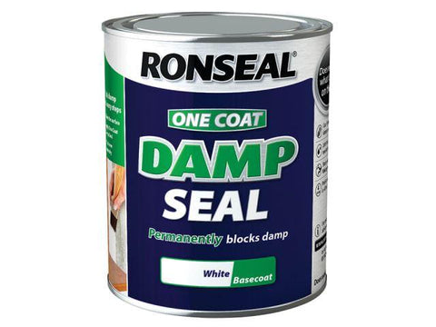 Ronseal - Interior Damp Seal White 750ml One Coat Primers & Sealers | Snape & Sons