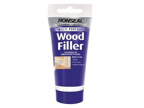 Ronseal - Multi Purpose Wood Filler Tube Light 100g Wood Fillers | Snape & Sons
