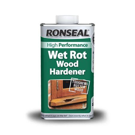 Ronseal - Wet Rot Wood Hardener 500ml Wet Rot Hardener | Snape & Sons