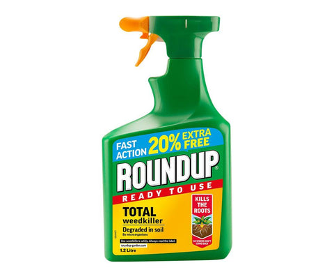 Roundup - Fast Action Ready to Use Weedkiller 1.2l Weed Killers | Snape & Sons