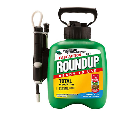 Roundup - Ready to Use Pump 'n Go Weedkiller 2.5l Weed Killers | Snape & Sons