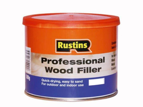 Rustins - Professional Wood Filler Natural 250g Wood Fillers | Snape & Sons